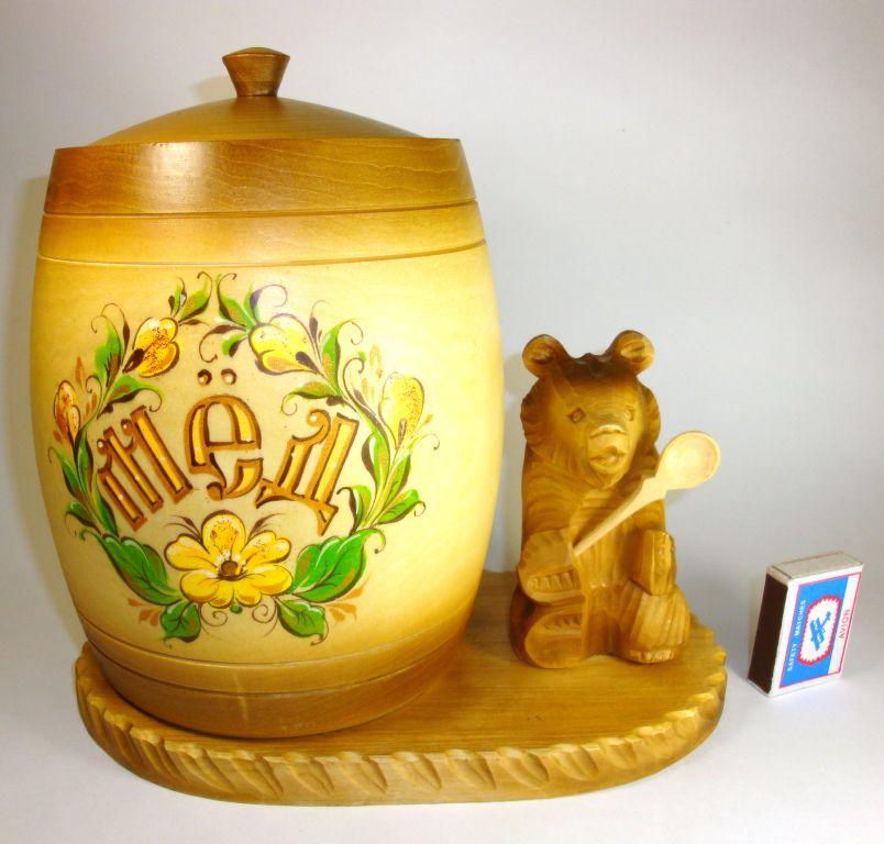 Бочонки с медом в подарок 6
